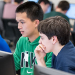 MCPS Java Programming Competition for high school students. Participants are challenged to analyze programming problems and apply solutions in the Java programming language